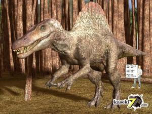 背中のトゲが特徴スピノサウルス(Spinosaurus)