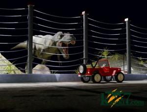ティラノサウルス(化石セブンオリジナルCG)