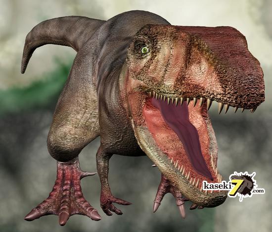 アフリカ大陸のプレデターカルカロドントサウルス