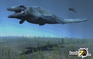 白亜紀海の化け物!モササウルス